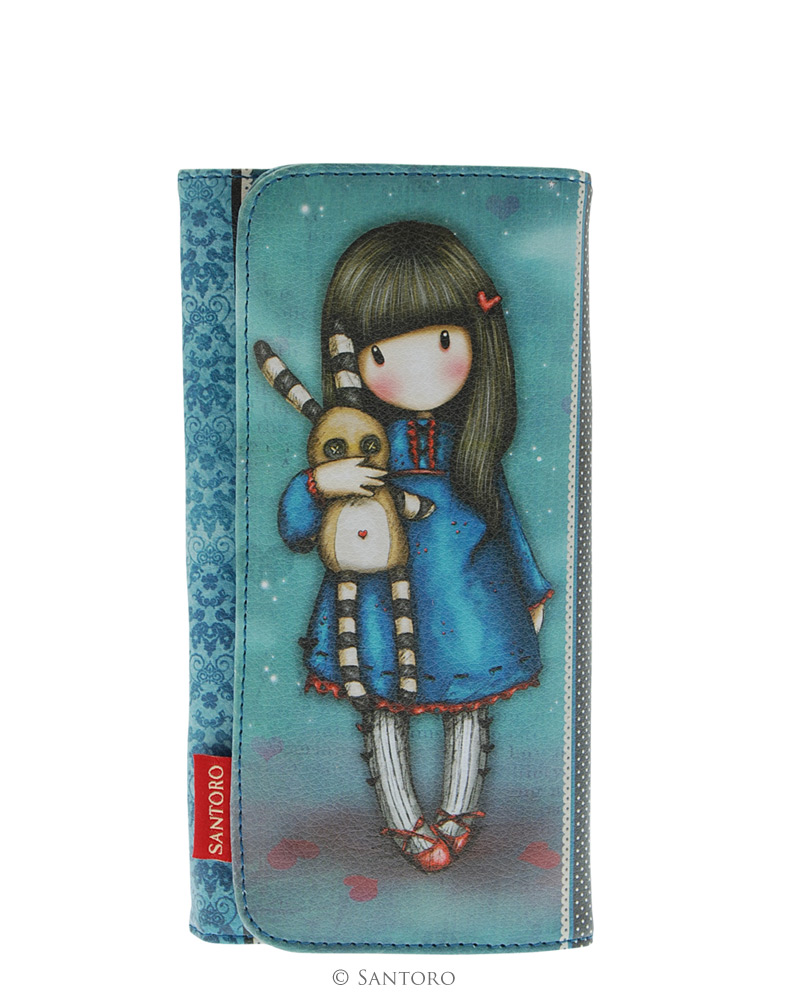Peněženka Santoro - Gorjuss Long Wallet - Hush Little Bunny