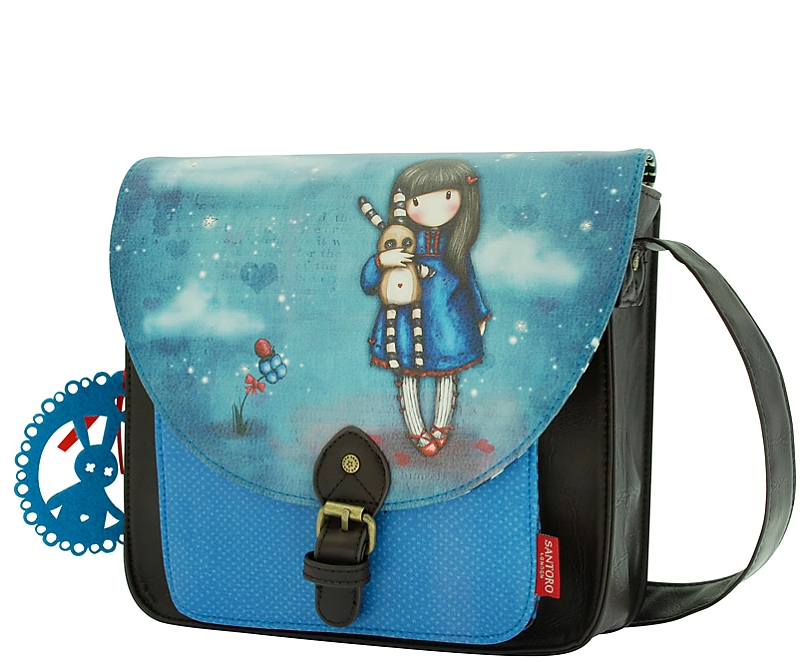 Kabelka Santoro - Gorjuss Small Satchel - Hush Little Bunny