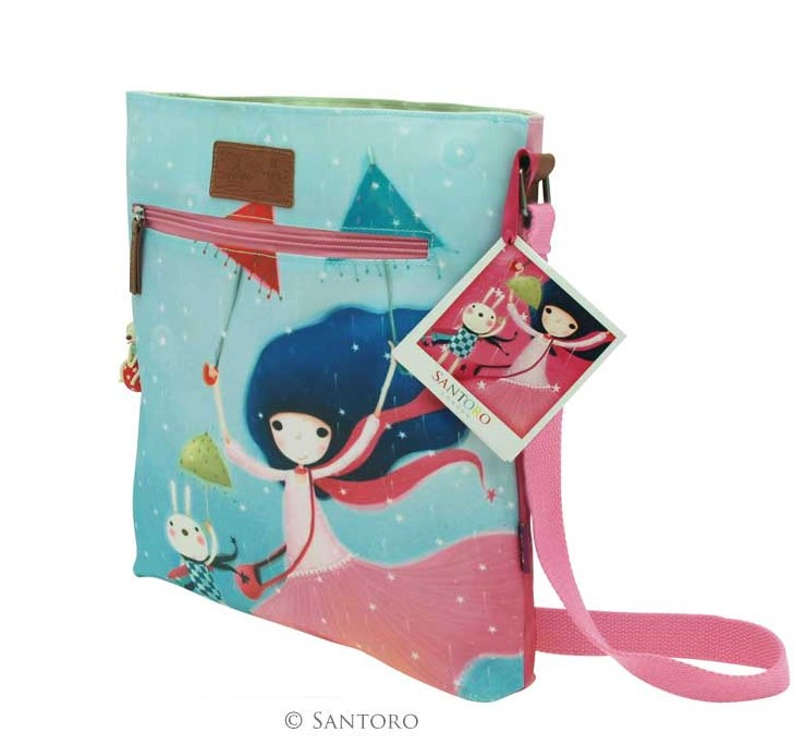 Kabelka Santoro - Kori Kumi Coated Cross Body Bag - Under My Umbrella